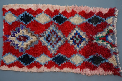 Colorful Wool Rug Collectable 100 Wool 3.1 By Beniouraincarpets