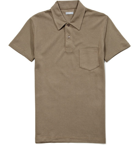 Sunspel Cotton Polo Shirt MR PORTER