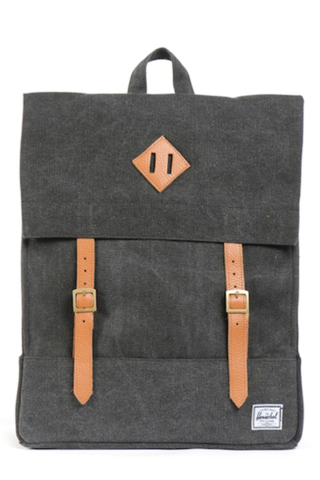 GOOD AS GOLD HERSCHEL SUPPLY CO survey canvas backpack black