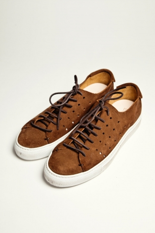 Buttero Tanino Perforated Brown Tres Bien Shop