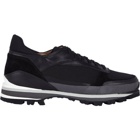 Dries Van Noten Multi Material Hiking Sneakers At Barneys.Com