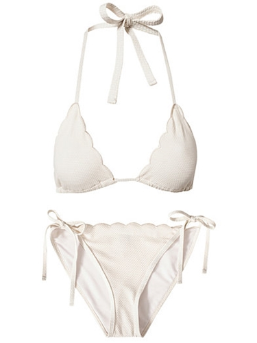 Darling Bikini Set Wonderland White Complete Sets Swimwear Women Nelly.Com Uk