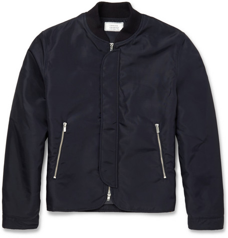 Officine Generale Nylon Bomber Jacket Mr Porter