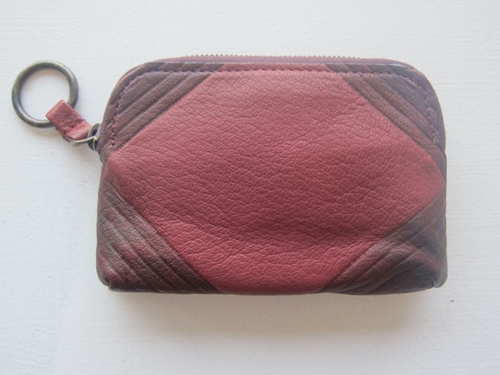 South Willard Deerskin Zipper Card Case