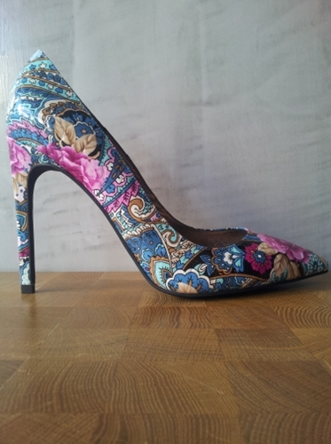 Shoes Jeffrey Campbell Dulce Floral Printed Leather