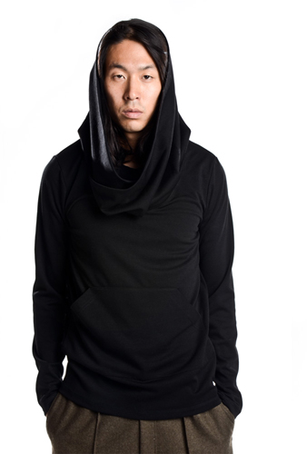 Funnel Neck Side Zip Pullover Jj495 118.00 B Scott Llc Fusion Of Japanese And German Aesthetics Using Lines With Purpose