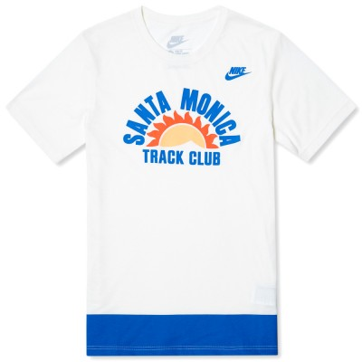 Nike Run Santa Monica Tee Soft Pearl