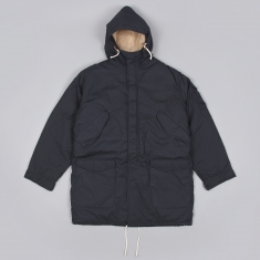 Universal Works Mil Parka Navy