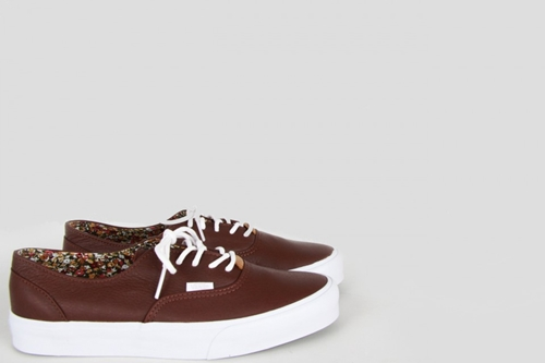 Vans Era Decon Ca Nappa Leather Brown Nouveautes