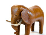 1STDIBS COM Damals Big Leather Elephant Abercrombie Fitch