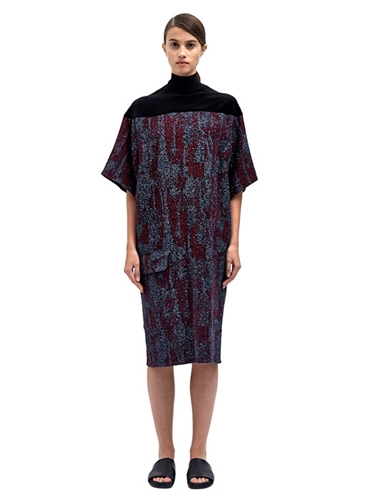 Damir Doma Womens Davidia Oversized Sleeve Dress