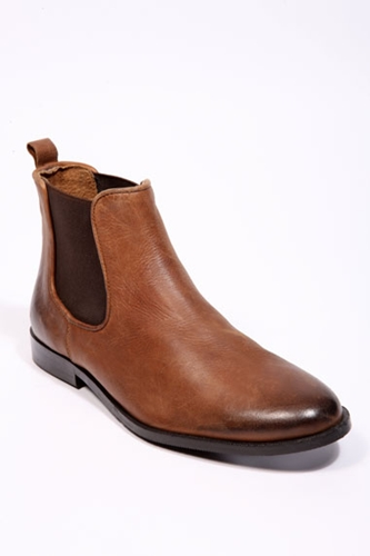 outfitters flat brown chelsea boots nuji
