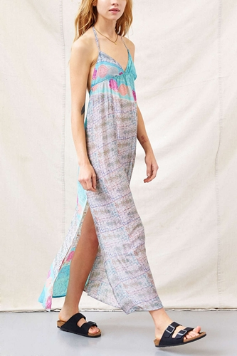 Urban Renewal Bombay Maxi Dress Urban Outfitters