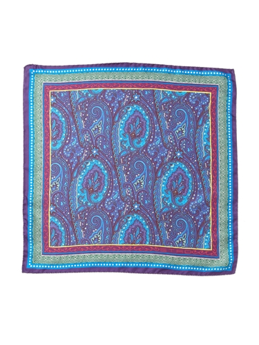 Etro Paisley Pocket Square at Park Bond