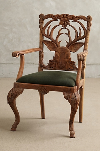 Handcarved Menagerie Dining Chair Anthropologie.Com