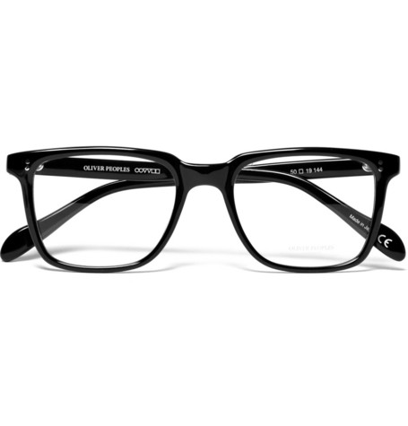 Oliver Peoples Thick Rimmed Optical Glasses MR PORTER