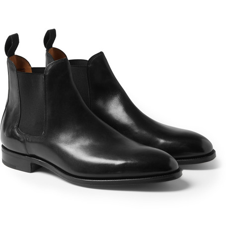 John Lobb Leather Chelsea Boots Mr Porter
