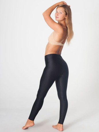 Shiny Nylon Tricot Legging Shop American Apparel