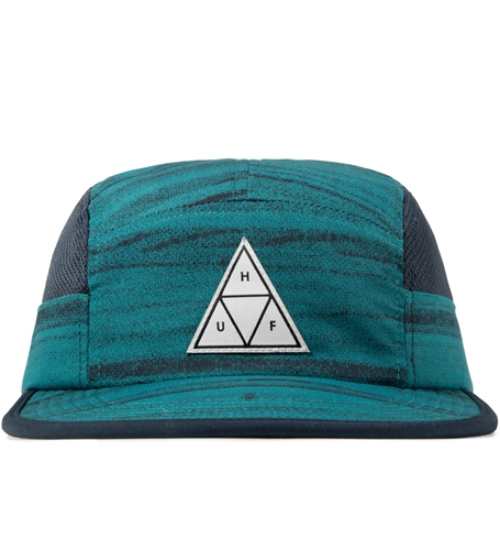 Huf Navy Woodgrain Scout Volley Cap Hypebeast Store. Shop Online For Men's Fashion Streetwear Sneakers Accessories