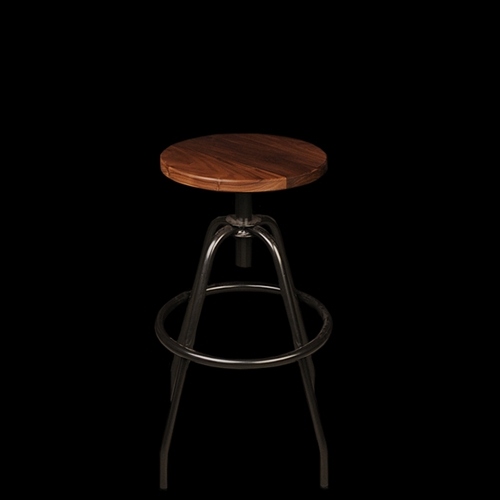 Unionmade Makr Fixed Work Stool In Pewter