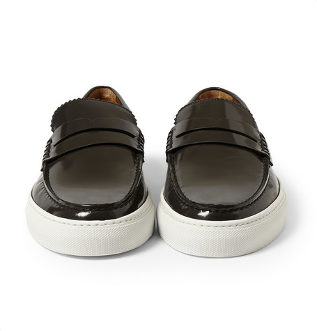 Givenchy Leather Loafers With Stud Detailing Mr Porter