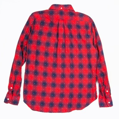 Gitman Vintage Penny Collar Shirt In Red Dots Atoo.Co.Uk