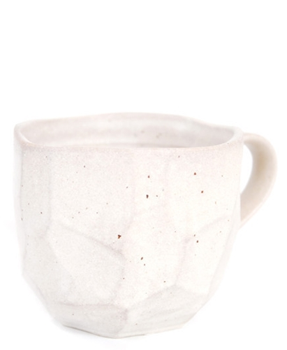Japanese Boulder Mug Faceted Leif