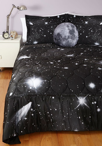 Spaced Out Quilt In Queen Mod Retro Vintage Decor Accessories Modcloth.Com