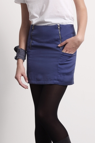 Al Alicia Online Shop Skinnyalli Mini Electric Blue