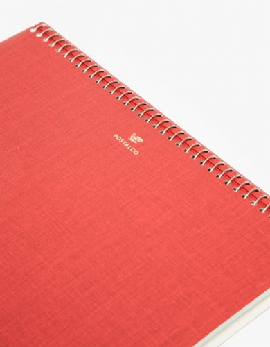 Notebook A5 In Signal Red