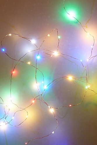 Colored Northern Trace String Lights Anthropologie.Com