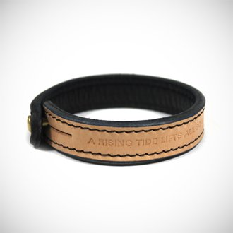 Ace x Beams Leather Bracelet Accessories Ace Hotel Online Shop
