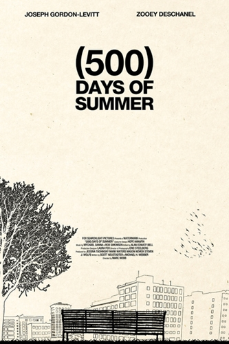 500 Days of Summer Art Print by Martin Lucas Society6