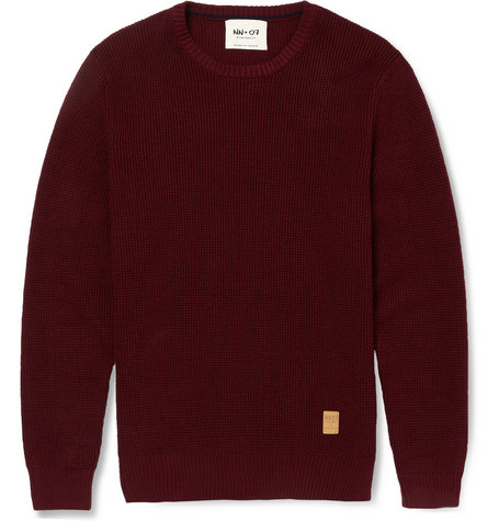 Nn.07 Muri Waffle Knit Cotton Sweater Mr Porter
