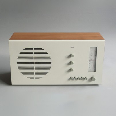 Braun electrical Audio Braun RT 20 tischsuper beech white
