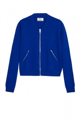 Acne Klein Olympia Boiled Zip Bomber By Acne