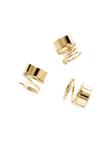 Bullet Rings Stacked Ring Skinny Gold Rings 6