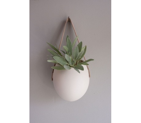 Decurate Porcelain Hanging Containers Set of 3
