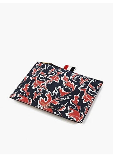 Men's Leaf Print Coin Wallet