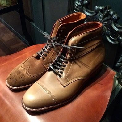 Alden Wingtips And Captoes
