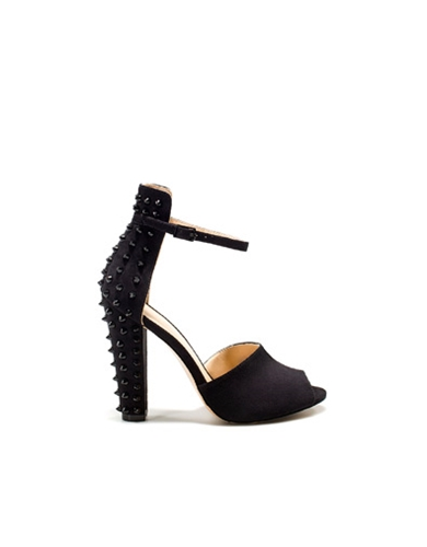 STUDDED ANKLE STRAP SANDAL Shoes Woman New collection ZARA Estonia