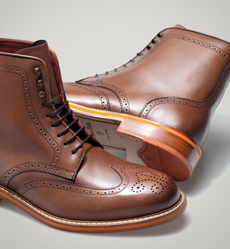 Brogues Boots Sale Brogued Leather Boots View All