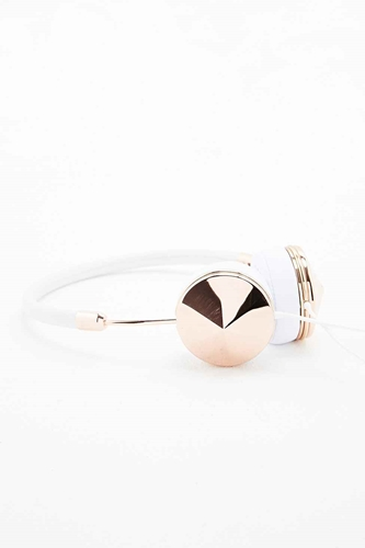 Frends Layla Headphones In Rose Gold Urban Outfitters