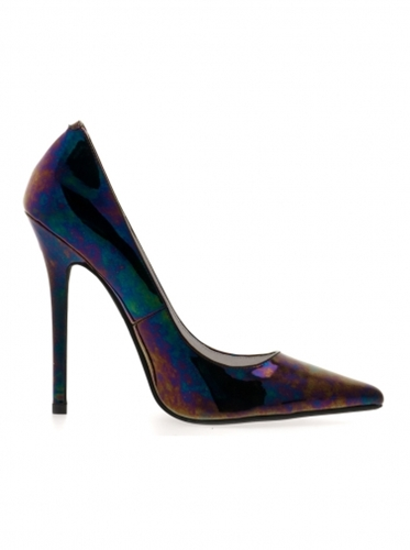 Shoes Jeffrey Campbell Darling Black Iridescent