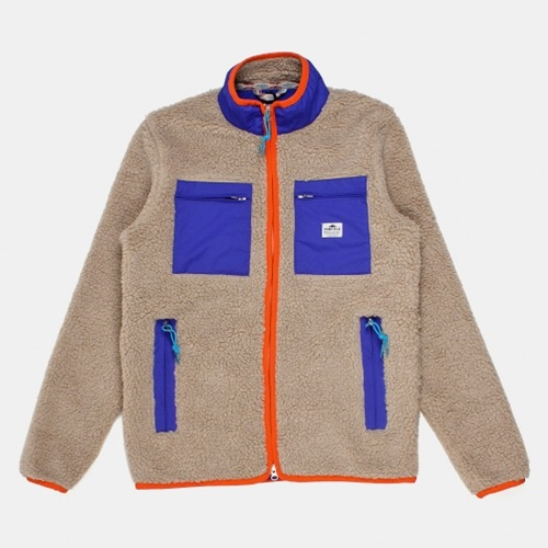 Buy Penfield Kenai Pile Fleece Multi Pocket Jacket Ecru From Urban Industry Urban Industry
