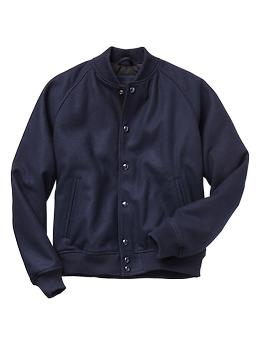 Wool Baseball Jacket Gap