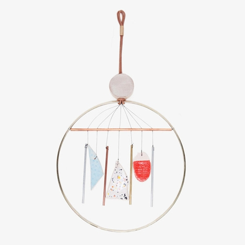 Ladies Gentlemen Aura Wind Chime For Poketo Poketo