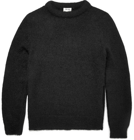 Acne Studios Cory O Knitted Sweater Mr Porter