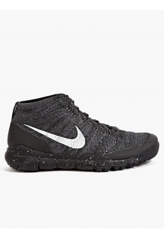 Men's Charcoal Flyknit Trainer Chukka Sfb Sneakers