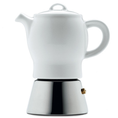 Espresso Maker With Porcelain Pot Manufactum